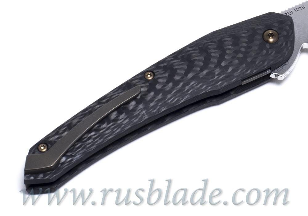 Cheburkov Cobra 2018 damascus new knife