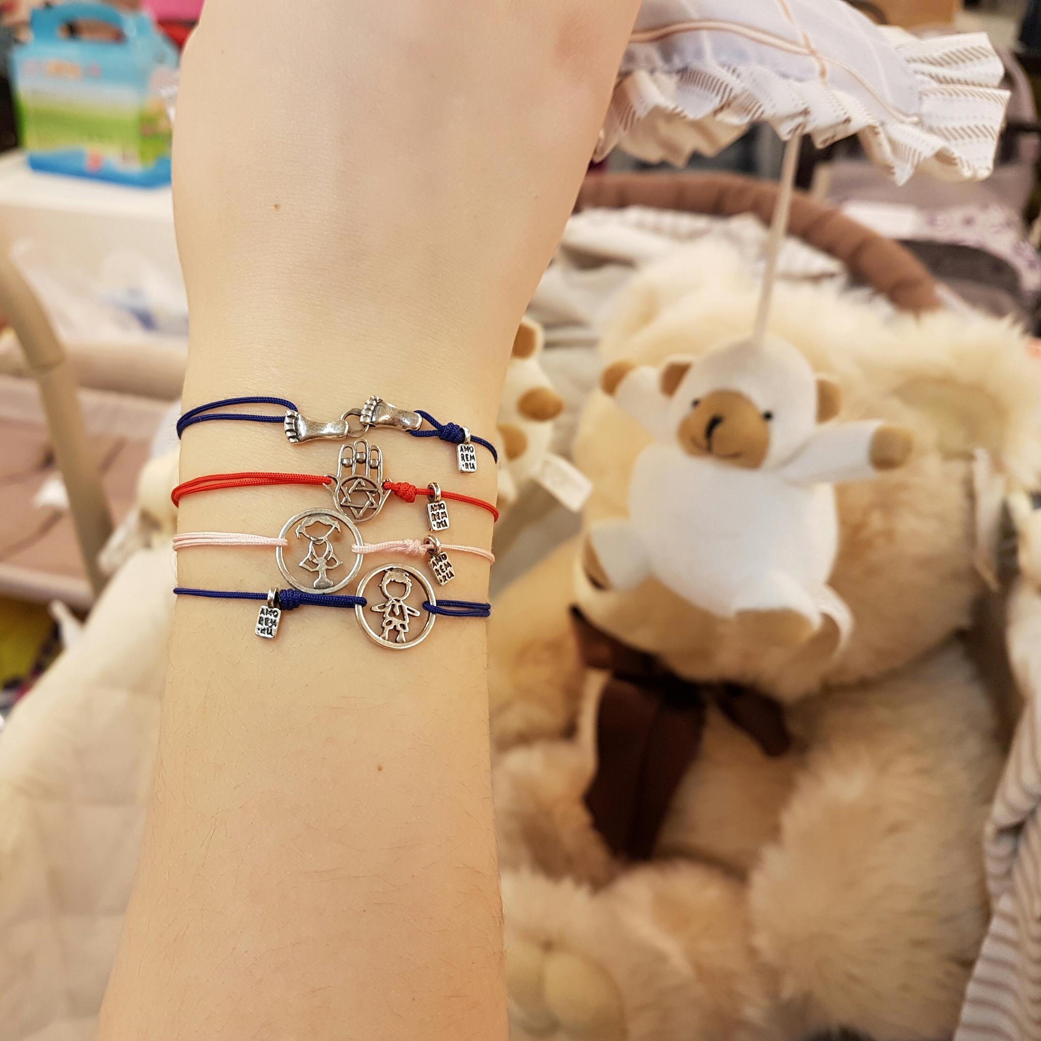 Family Girl bracelet, sterling silver