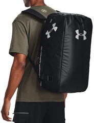 Сумка-рюкзак спортивная Under Armour Contain Duo SM Duffle черный - 2