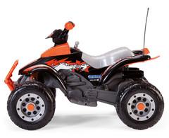Электроквадроцикл Peg Perego Corral T-Rex Black Orange