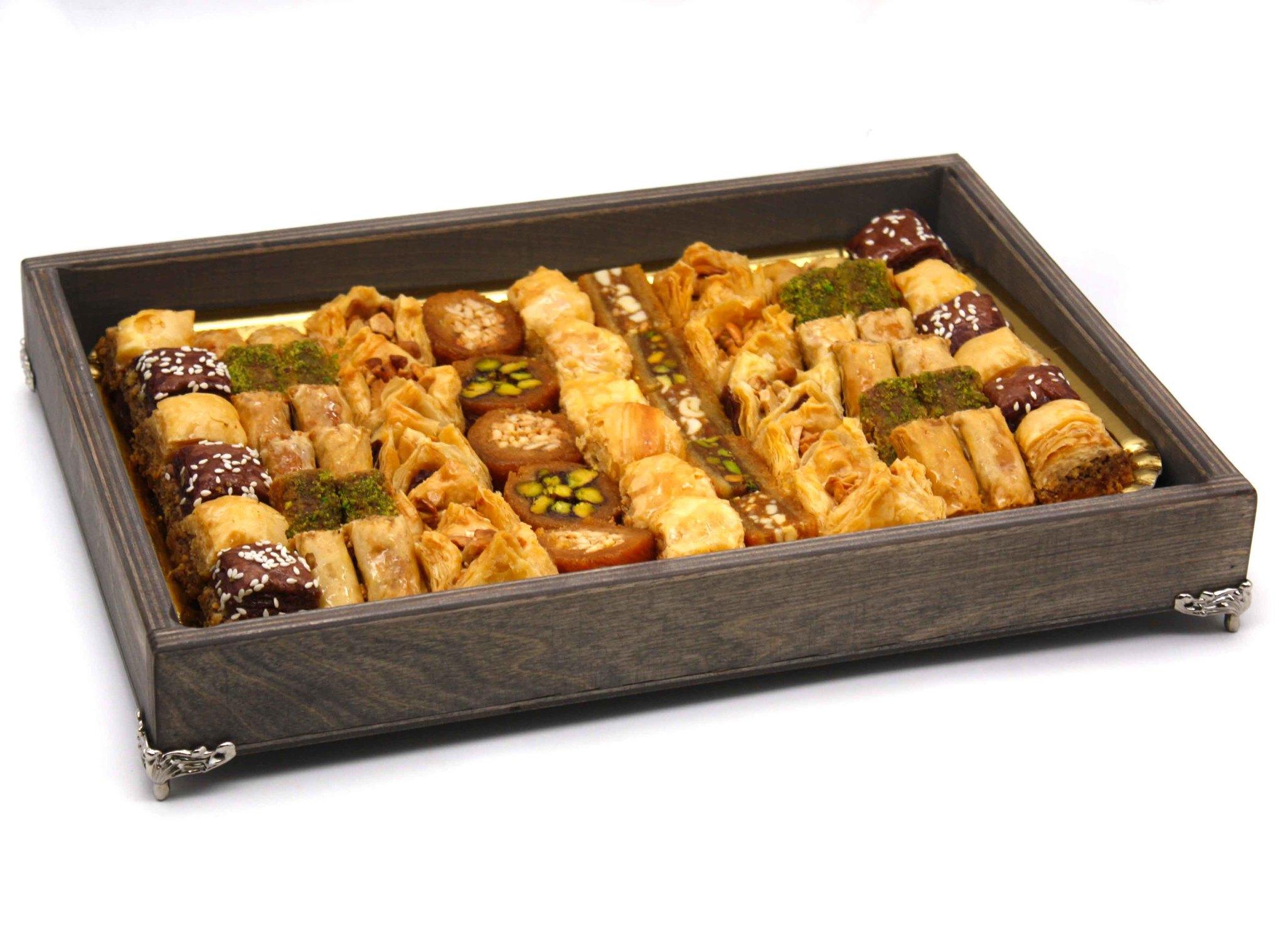 """Подарочные наборы Подарочное ассорти ливанских сладостей """"Признание"""", 1000 г import_files_54_541d7060d36a11e79a0ffcaa1488e48f_669fcbff233211eaa9c6484d7ecee297.jpg"""