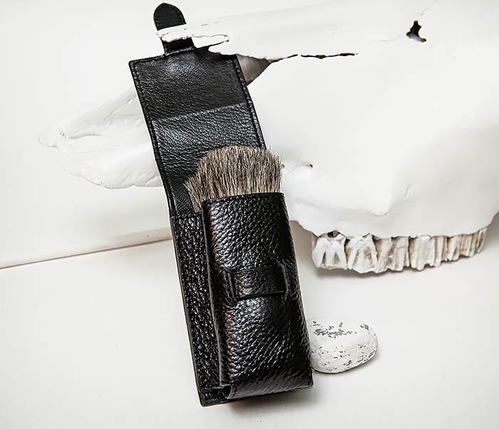 RAZ497 Кожаный чехол для помазка «PARKER» фото 05