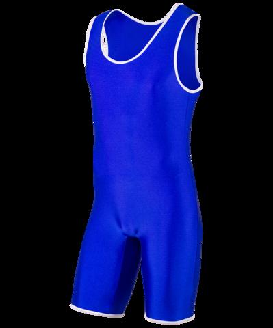 Трико борцовское, MA-401, 44-54, синий