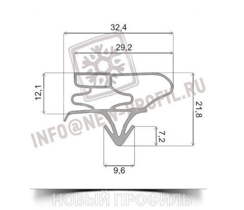 Уплотнитель для холодильника Samsung RL34ECSW м.к.700*520 мм(035)