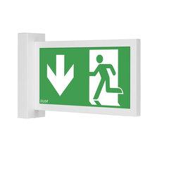 Световой указатель направления движения при эвакуации Infinity II AW Awex
