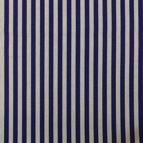 Портьерная хлопковая ткань в современном стиле Трейд синий
