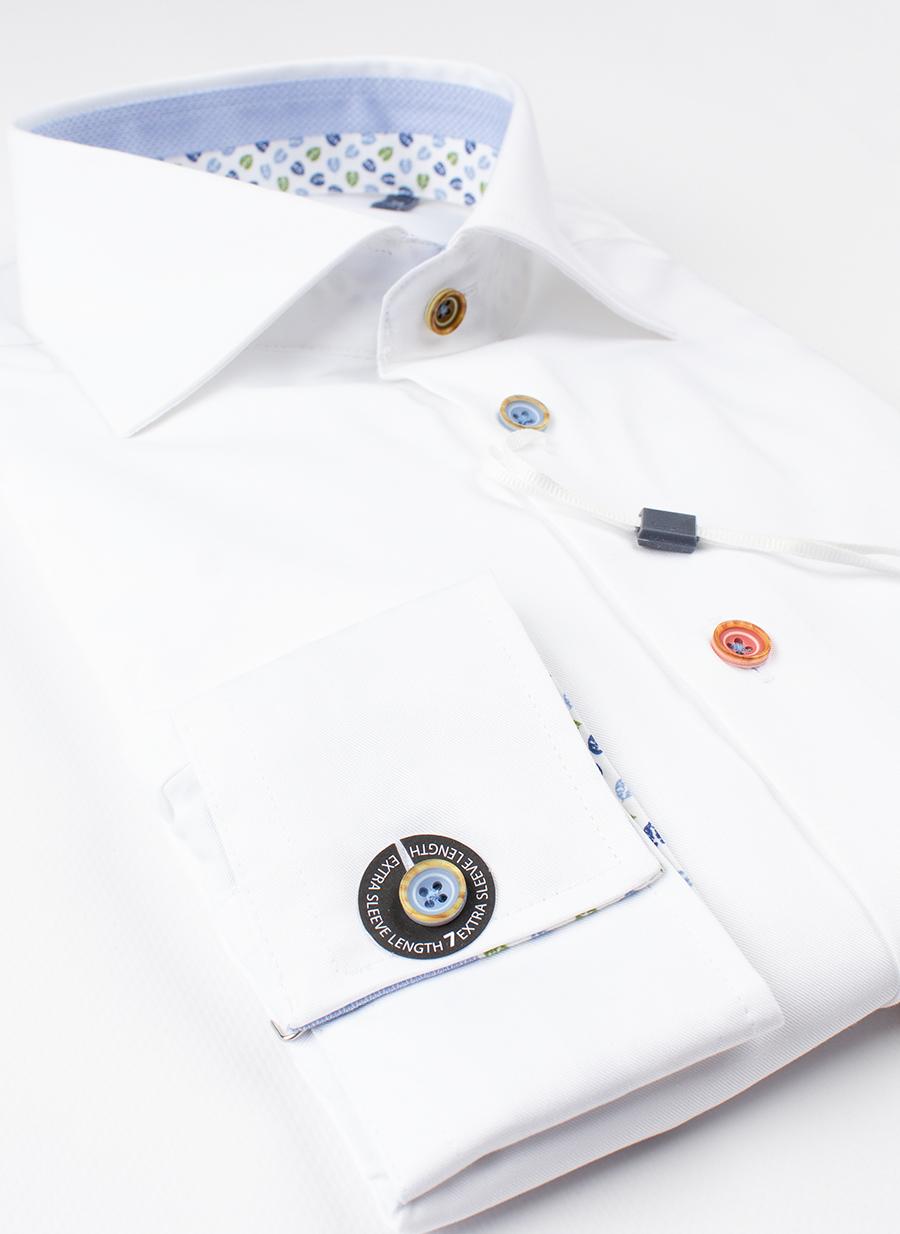 Рубашка Ledub slim fit 0137832-910-120-130