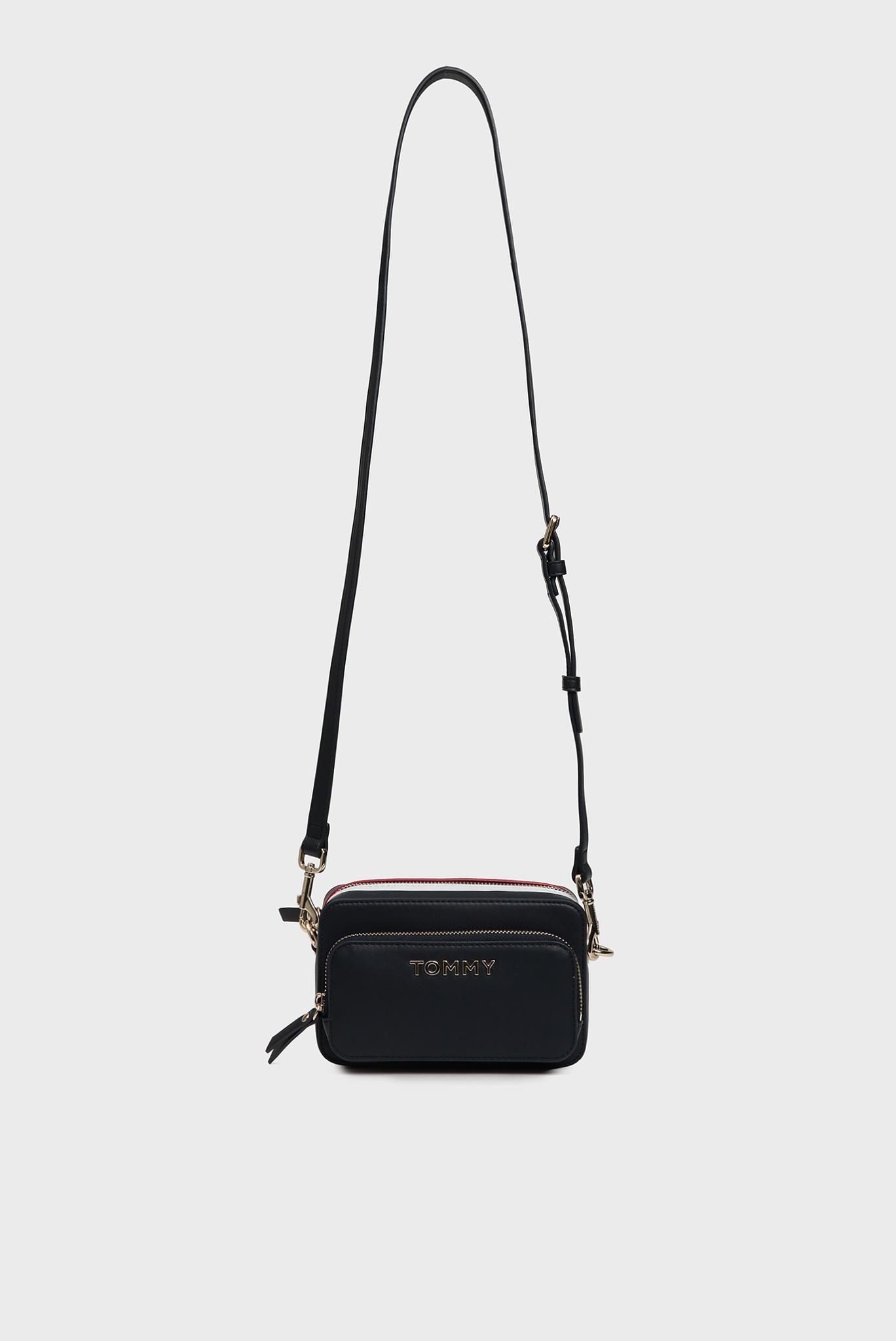 Женская темно-синяя сумка через плечо TH CORPORATE Tommy Hilfiger
