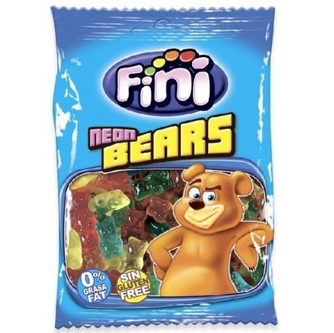 Жевательный мармелад Fini Neon Bears 100 гр