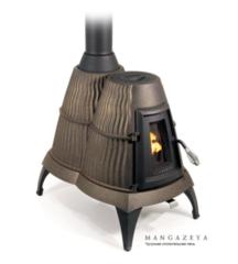 Чугунная отопительная печь TMF Мангазея
