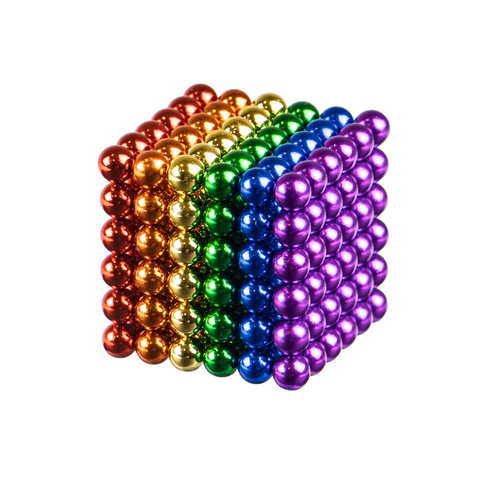Магнитный конструктор Berger NeoCube  3mm Rainbow