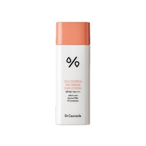 Солнцезащитный лосьон для проблемной кожи Dr Ceuracle 5α Control No Sebum Sun Lotion