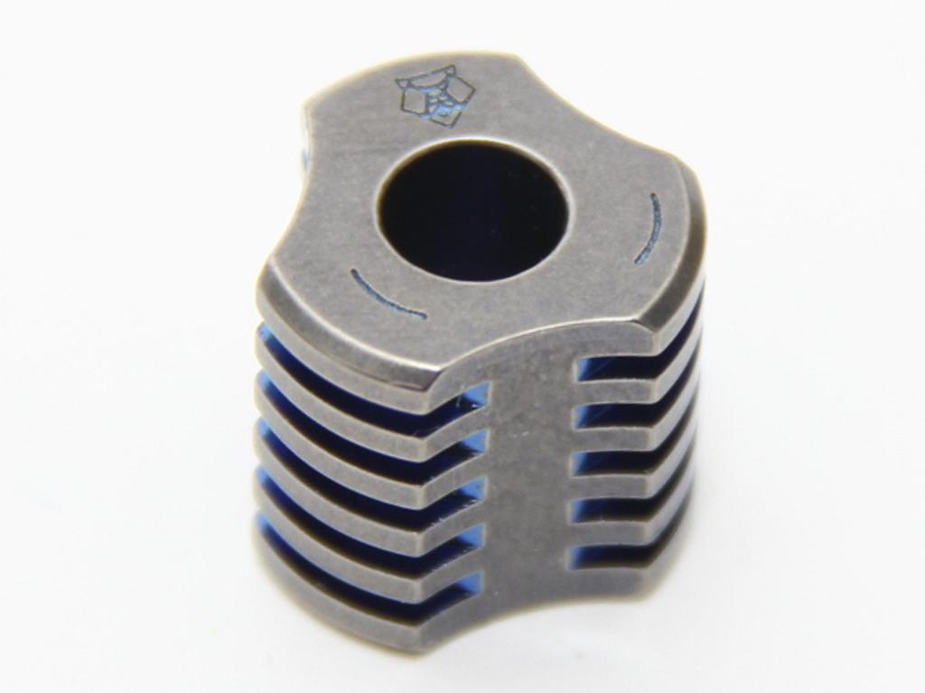 Бусина для ножа Радиатор малая - фотография