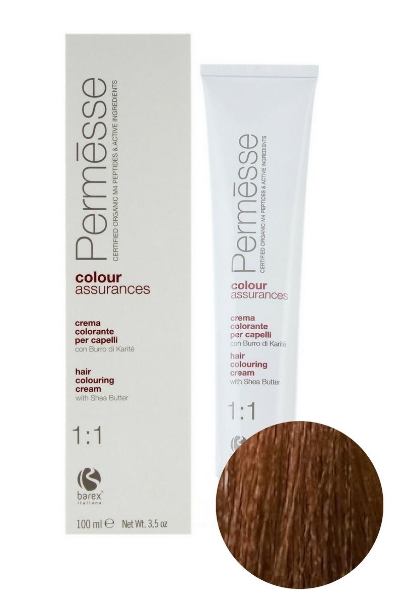 Крем-краска для волос 7.73 Блондин тропический Permesse, Barex