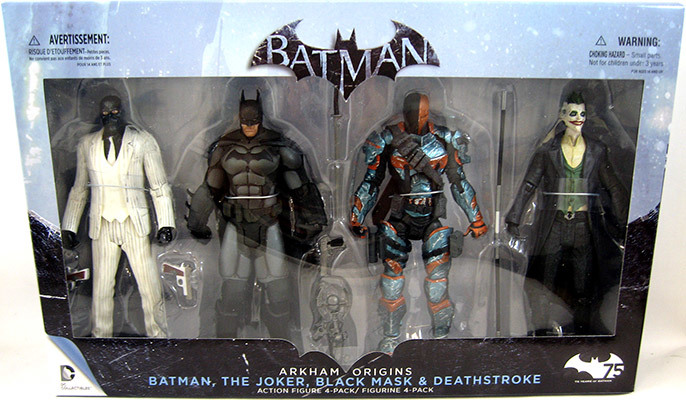 Batman: Arkham Origins Four Pack