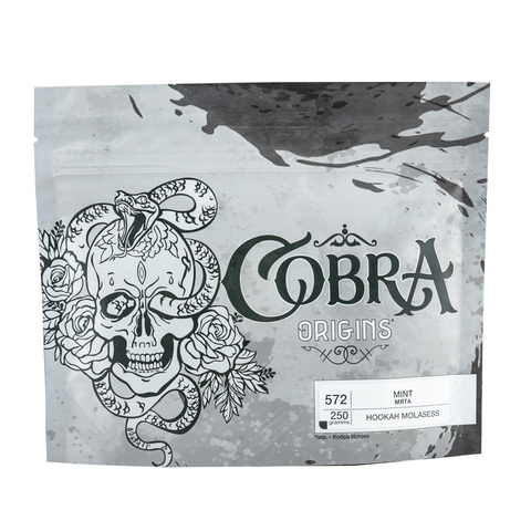 Табак Cobra Origins Mint 250 гр