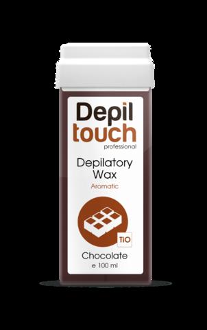Теплый воск Depiltouch  с ароматом шоколада, 100 мл.