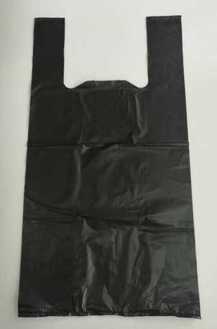 Пакет черный, размер 57х30х15см 22мкм
