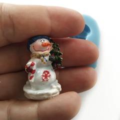 0812 Молд силиконовый. Снеговик.