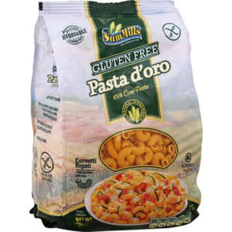 Макароны Pasta Doro Рифленые Рожки из кукуруз муки 500г