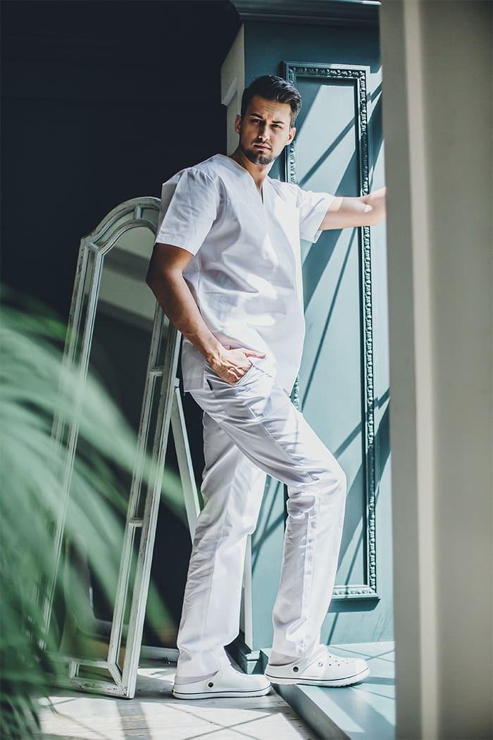 Блуза хирургическая мужская  М 61
