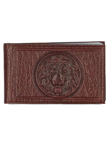 Визитница карманная «Royal». Цвет коньяк