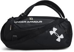 Сумка-рюкзак спортивная Under Armour Contain Duo SM Duffle черный