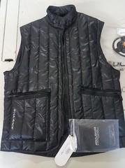 Утепленный жилет с защитой спины SOUL RACE GILET AM-01