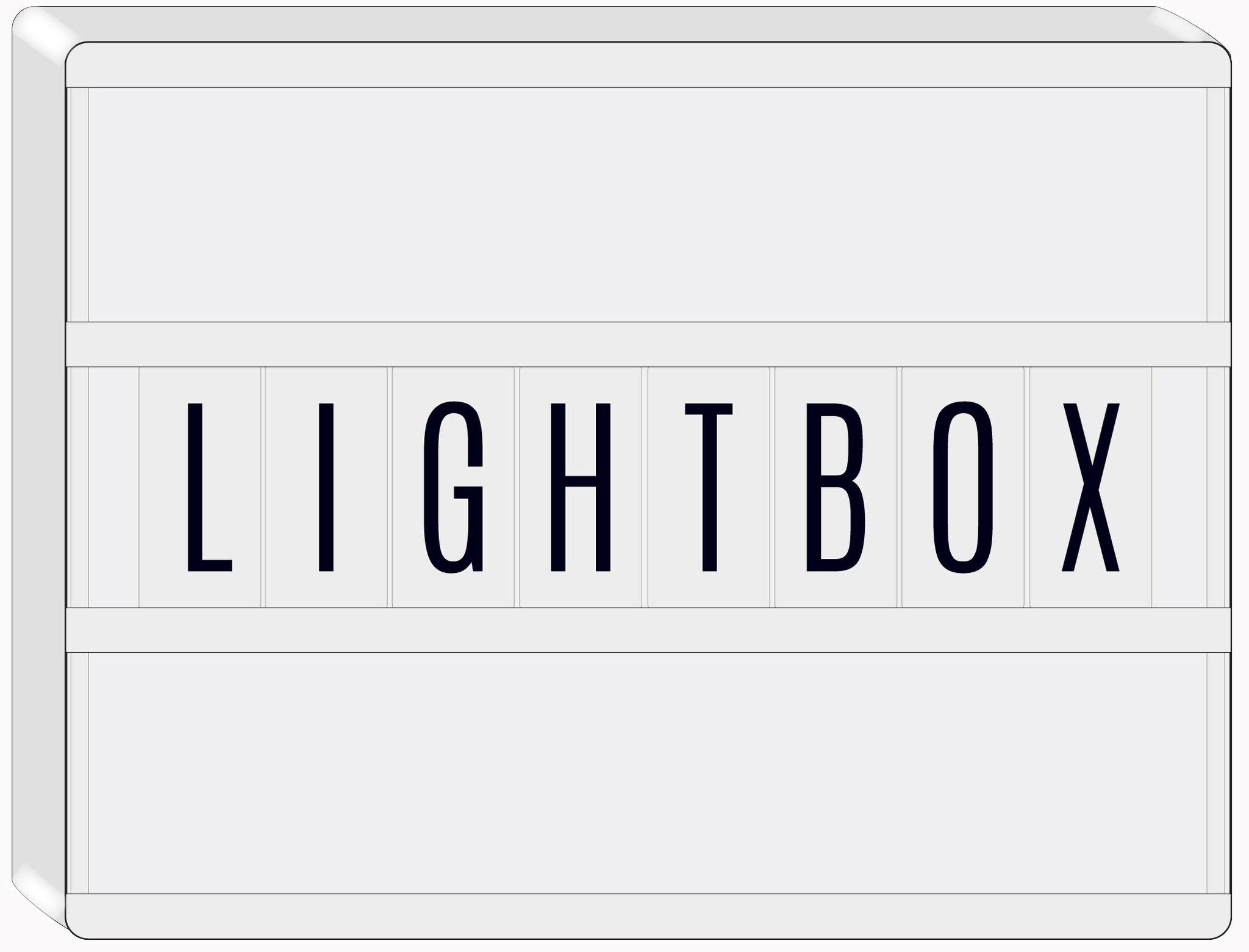 LIGHTBOX- cветильник  Heidi Swapp