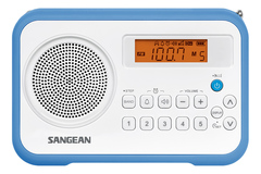 Радиоприемник Sangean PR-D18 white blue