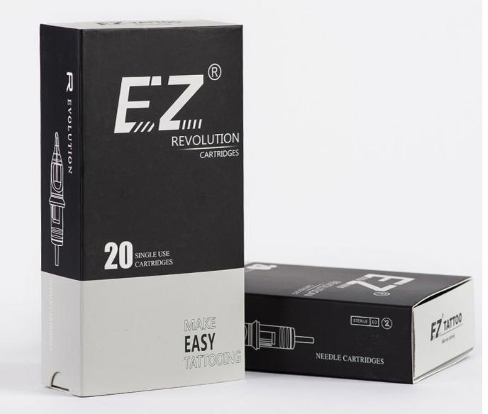 Картридж для тату 14RS 0.35 EZ Revolution 1214RS  Medium Taper средняя заточка (цена за 5шт и 20 шт)