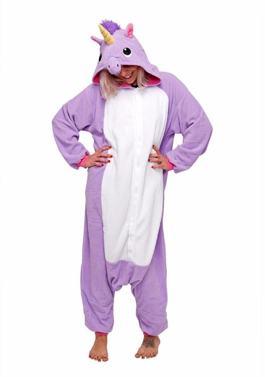 Плюшевые пижамы Фиолетовый Единорог 2.png