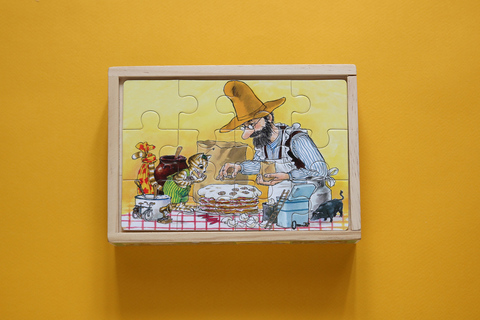 Набор деревянных пазлов «Именинный пирог»