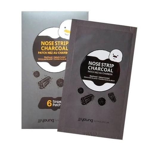 Полоски для носа от черных точек с углем