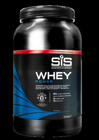 SIS Напиток для восстановления MUFC Whey Power Powder, Клубника со Сливками, 1,035 кг