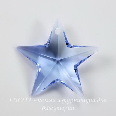 6714 Подвеска Сваровски Звезда Light Sapphire (20 мм) ()