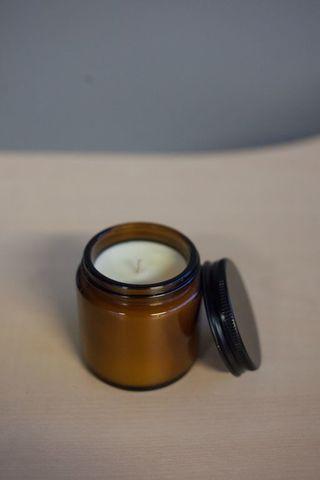 Соевая свеча Пион и фрезия - 120 мл