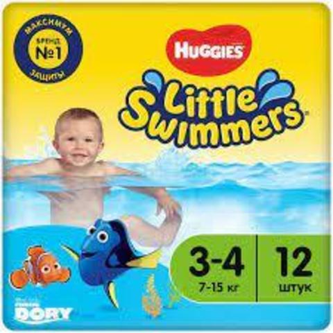 Huggies трусики для плавания Swimmers 7-15 кг