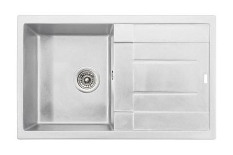 Кухонная гранитная мойка Kaiser KGM-7850-W белый