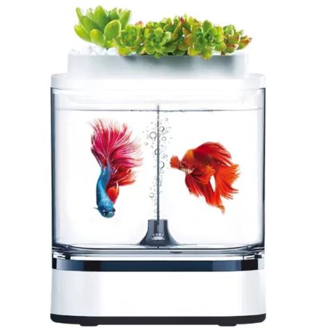 Акваферма Xiaomi Geometry Mini Lazy Fish Tank Pro C300
