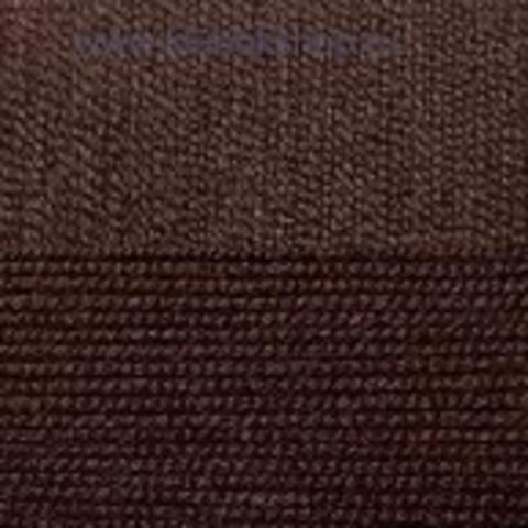 Пряжа Хлопок натуральный (Пехорка) коричневый 251