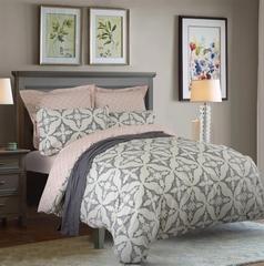 Сатиновое постельное бельё  1,5 спальное Сайлид  В-179