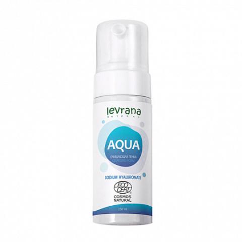 Levrana Пенка для умывания AQUA, с гиалуроновой кислотой, 150 мл