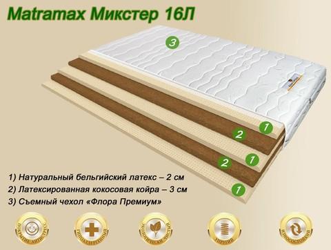 Матрас Матрамакс Микстер 16Л купить в Москве от Мегаполис-матрас