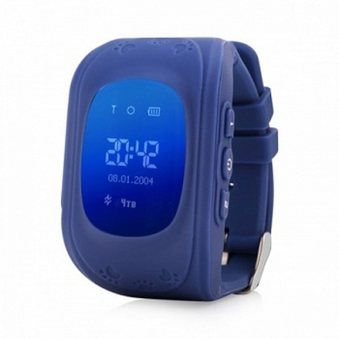 Детские часы Smart Baby Watch Q50 Dark blue Тёмно-синие