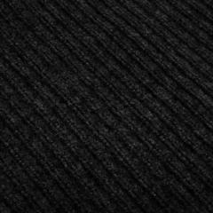 Коврик влаговпитывающий, ребристый, черный, 120*150 см