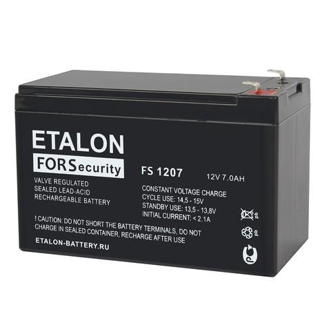 Аккумулятор ETALON FS 1207