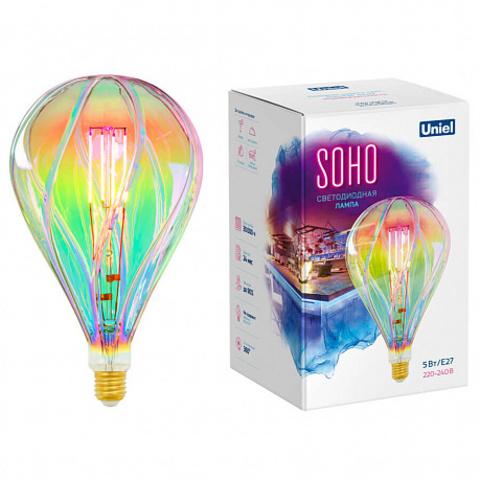 Декоративная светодиодная лампа RAINBOW D150 5W E27