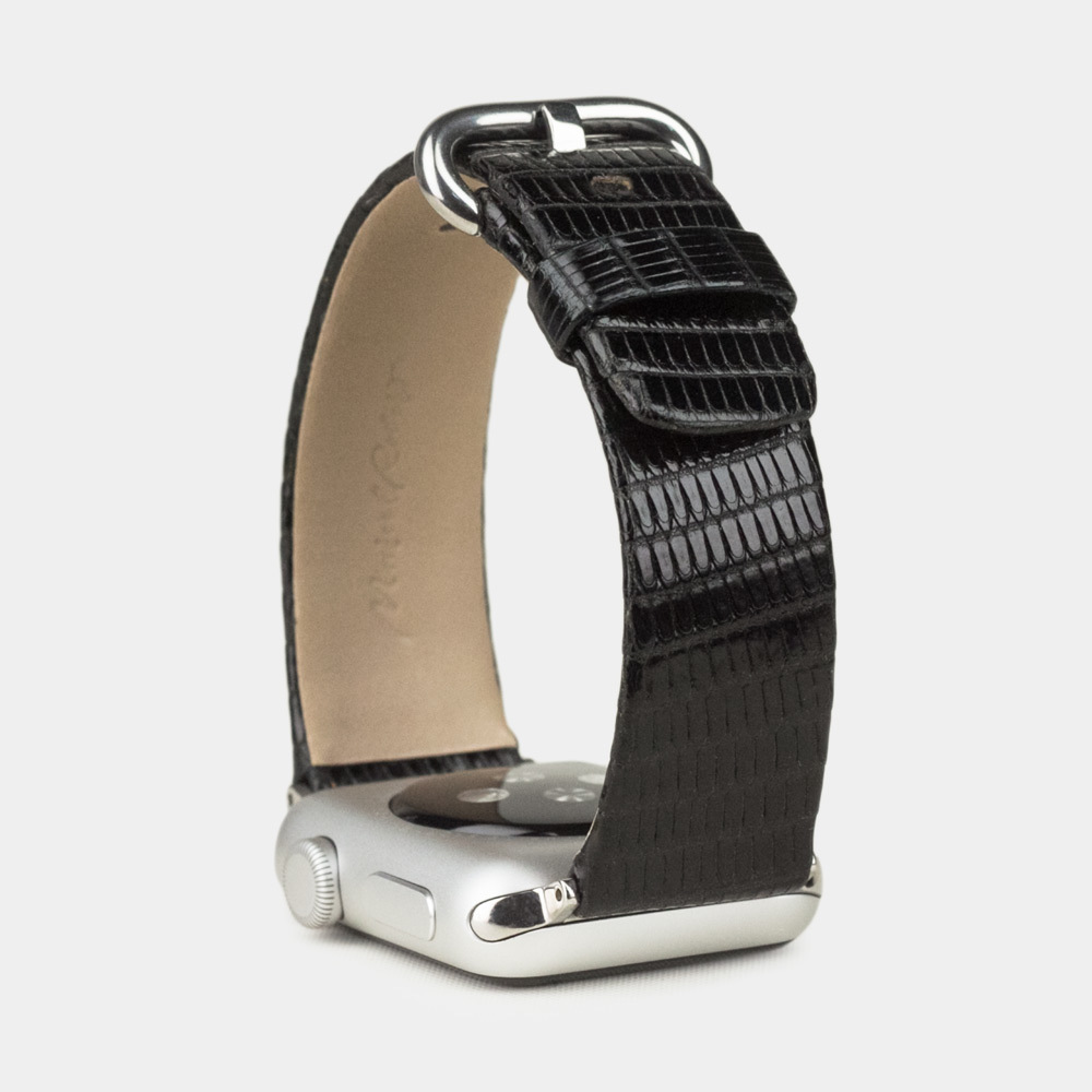 Band for AW 42/44mm — lizard black