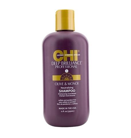 Шампунь нейтрализующий глубокого очищения CHI Deep Brilliance Neutralizing Shampoo, 355 мл.